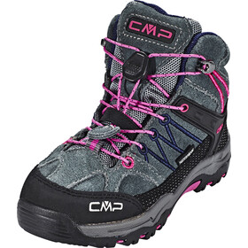 CMP Campagnolo Rigel Mid WP Trekking Shoes Kinder grey-hot pink